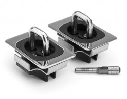 Bull Ring 9054 FXT- for 2014-17 Tundra Crew Max Low Profile Retractable 1-Pair With Router Bit