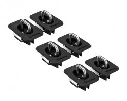 3 pair tie down anchors - Ford Flush Fit Front and Rear and Middle